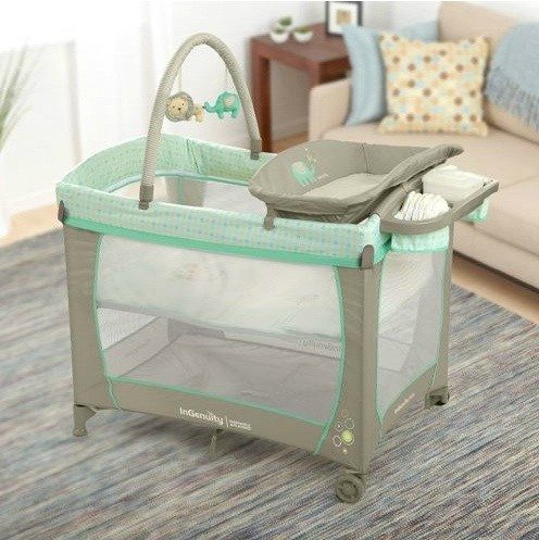 Get Clean With The Whimsical Wonders Ingenuity Washable Playard