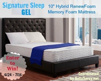 Signature Sleep Memory Foam Mattress Sweepstakes Ends 7 16 Us