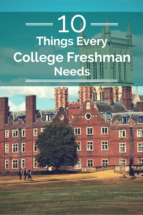 10 things every college freshman needs
