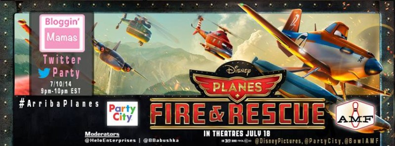 arriba planes disney planes fire and rescue twitter party