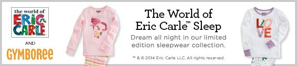 eric carle sleepwear