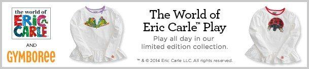 eric carle gymboree girl playwear