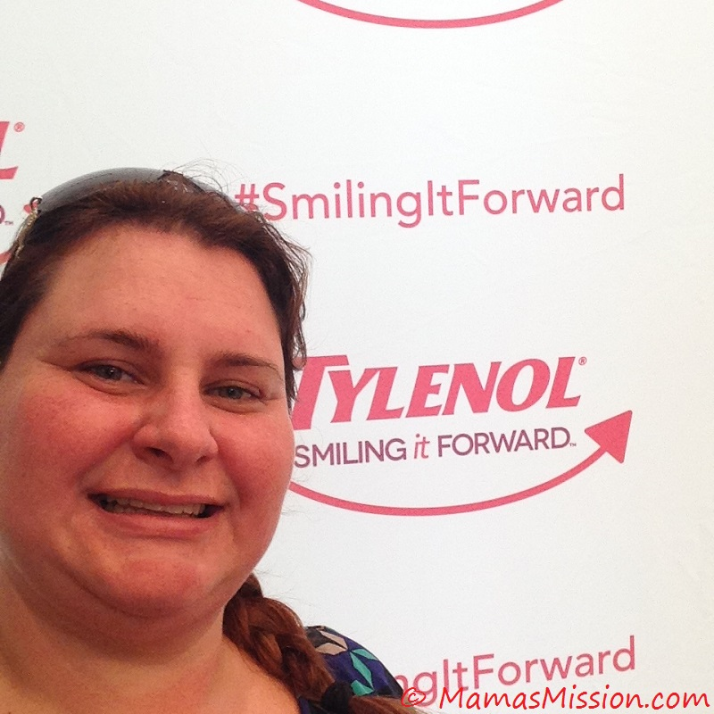 me smiling it forward