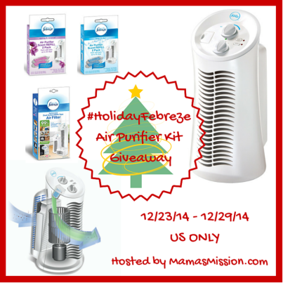 Febreze Air Purifier #HolidayFebreze Giveaway