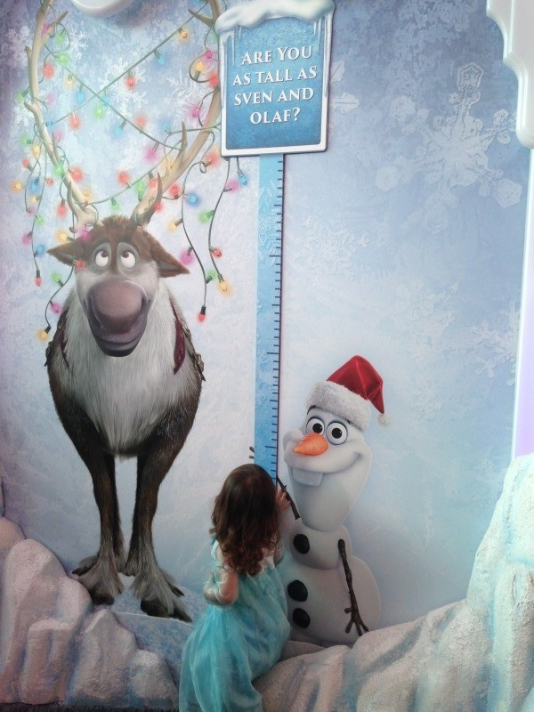 Frozen Ice Palace Dolphin Mall Height Chart