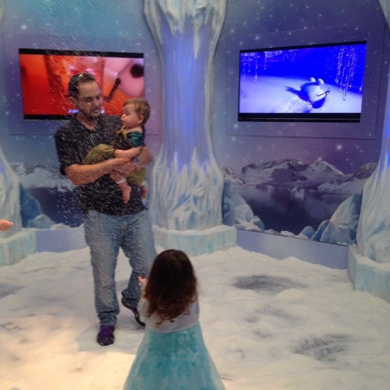 Frozen Ice Palace Dolphin Mall Snow