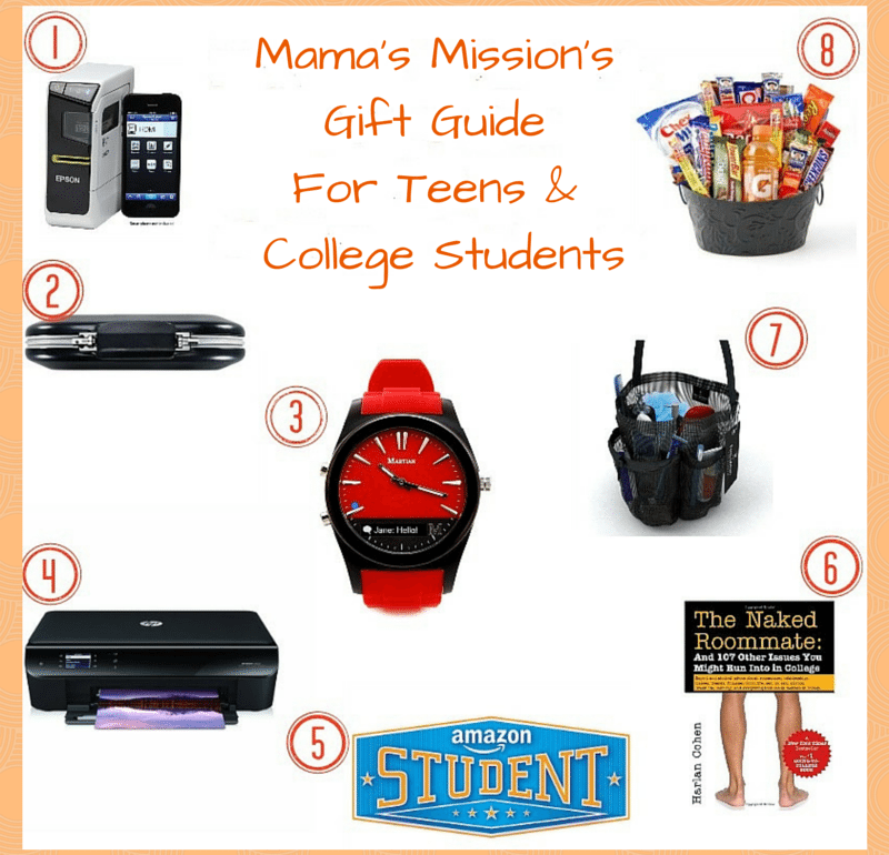 College student xmas gifts for teenage