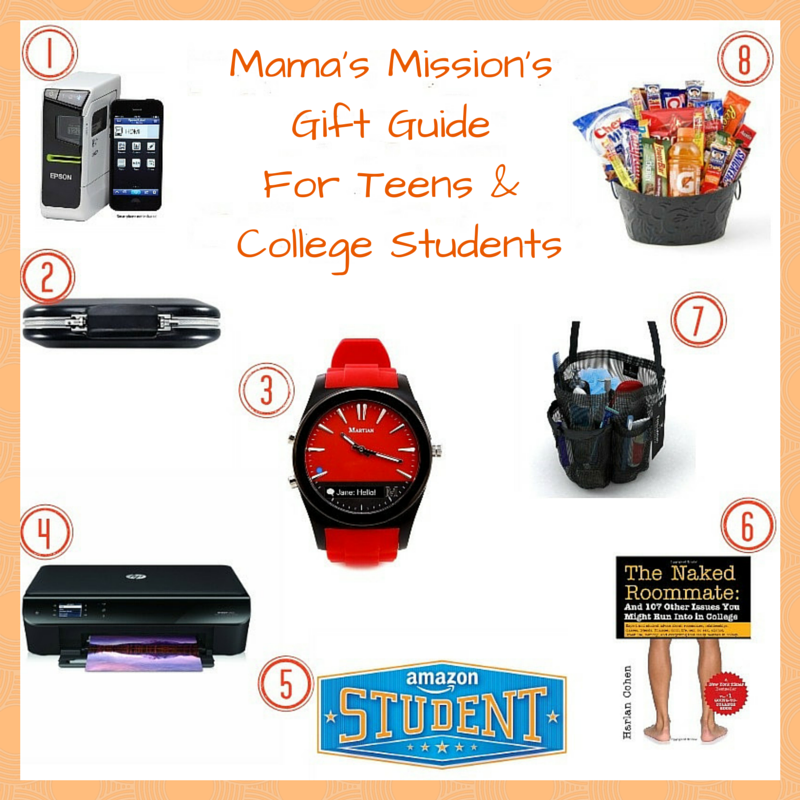 Mama's Mission's Gift Guide For Teens & College Students