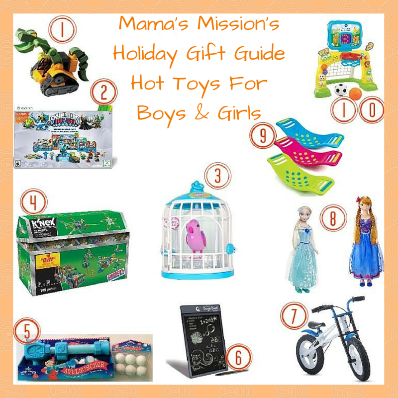 Mama's Mission's Holiday Gift Guide Hot Toys Boys Girls