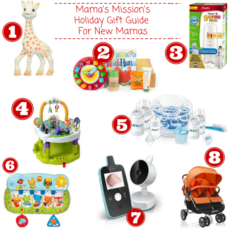 Mama's Mission's Holiday Gift Guide For New Mamas