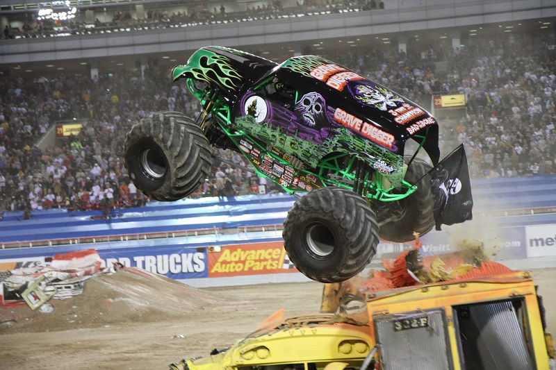 Monster Jam Grave Digger