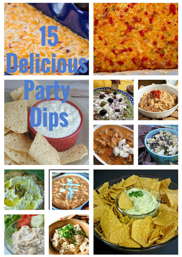 15 Delicious Party Dips football superbowl birthday dip
