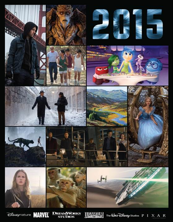 2015 Disney Movie Slate