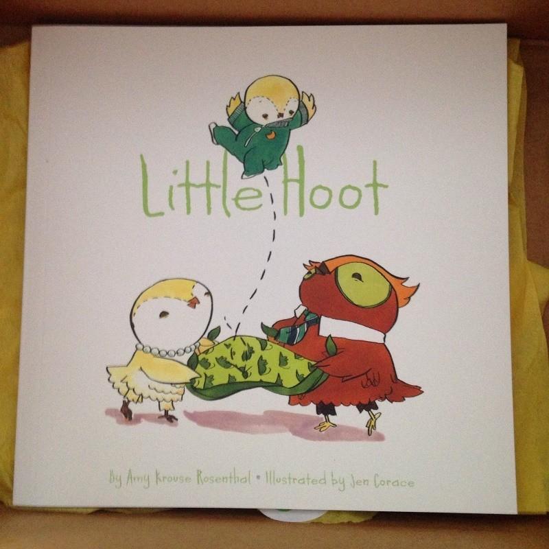 Citrus Lane December 2014 box Little Hoot Book