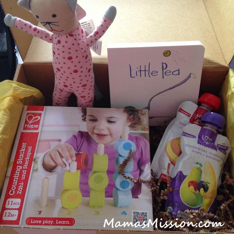 Citrus Lane Box December 2014 Girl