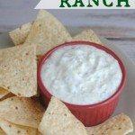 Creamy Jalapeno Ranch Dip