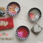 Get crafty with the kids with these DIY Valentines Day crafts. 14 loving DIY craft projects that you can do with the kids this valentines day. DIY Valentine Magnets