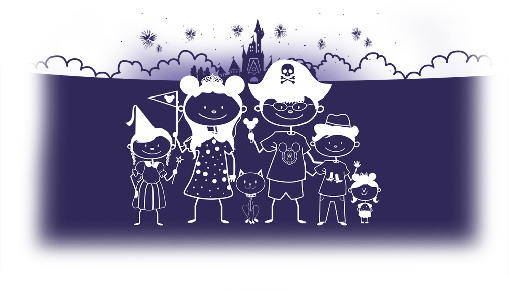 free family disney decal