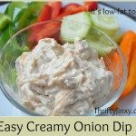 Easy Creamy Onion Dip Recipe