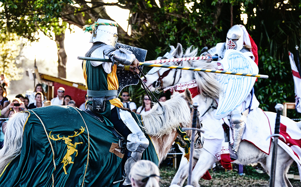 Renaissance Festival Deerfield Beach South Florida Jousting