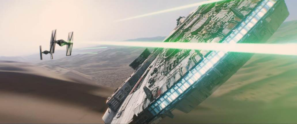 Star Wars The Force Awakens 2015 Release