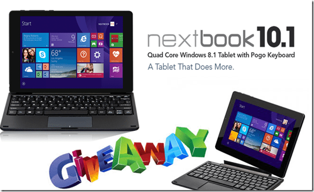 laptop notebook nextbook 10.1