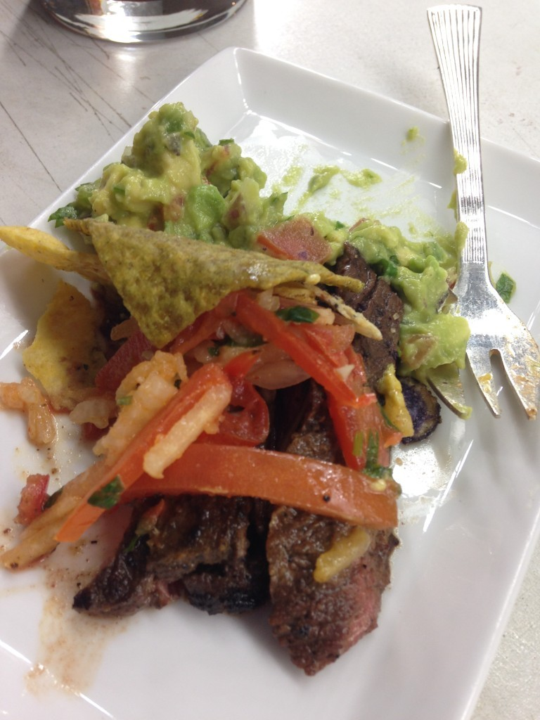 Churrasco with Avocado