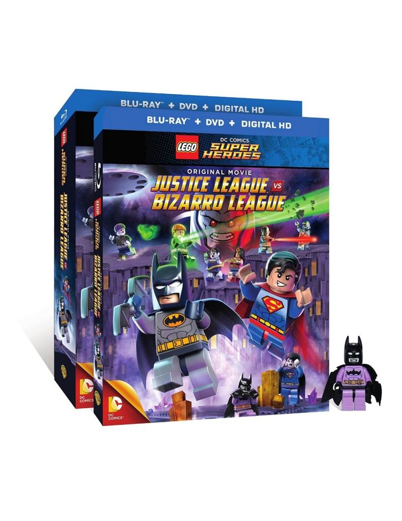 Lego Justice League Bizarro DVD