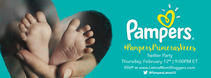 Pampers #PampersPrimerasVeces Twitter Party Invite Love At First Sight