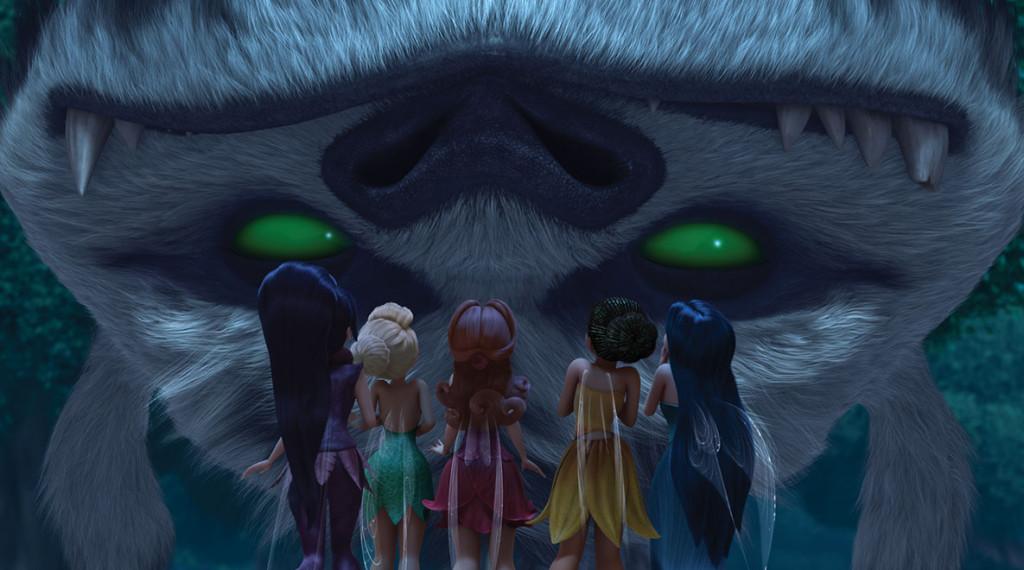 gruff meets fairies