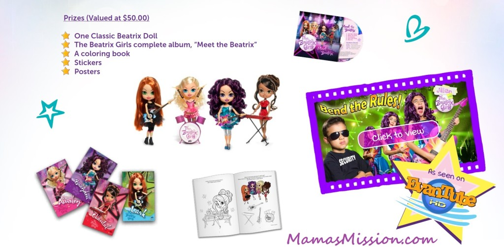 Beatrix Girls Giveaway March best song contest