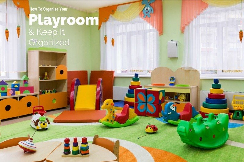 Organized Playroom for children