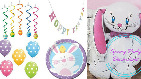 Easter is just around the corner, get hopping to get all the goodies you need to throw the perfect Easter Egg Hunt with these spring party decorations!