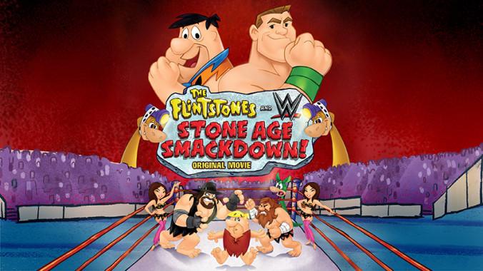 wrestling w flintstones bedrock