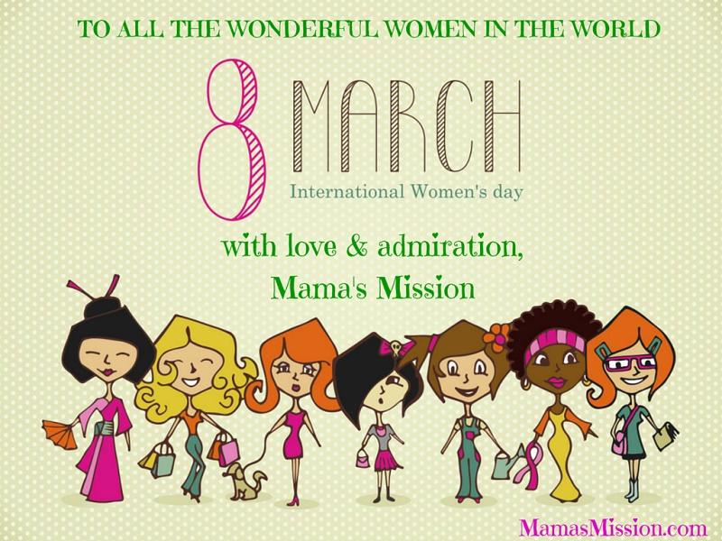 Happy International Women's Day March 8th