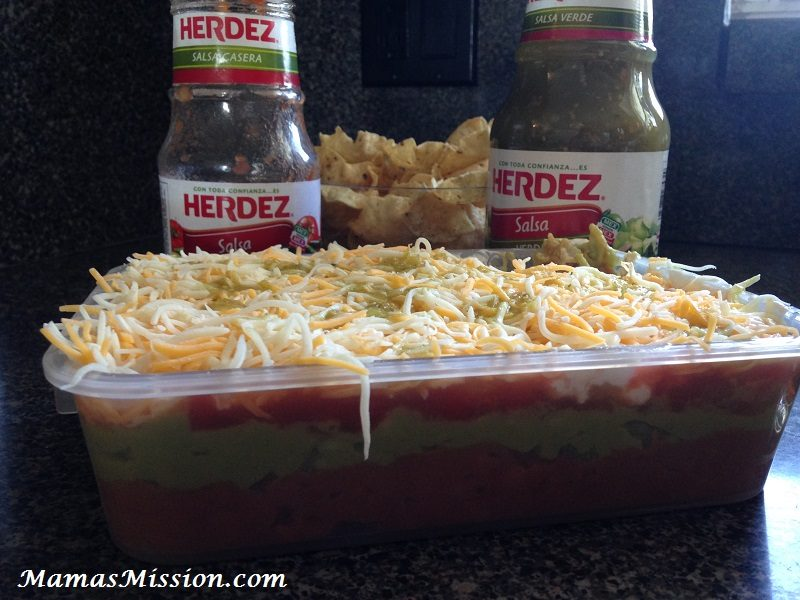 5 Layer Bean Dip Recipe Mexican Children's Day