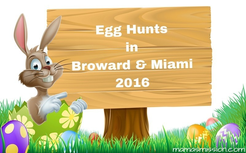 Looking for an egg hunt to join? Check out this extensive list of Easter Egg Hunts in Broward and Miami Dade County for 2016 and hop in on the fun!