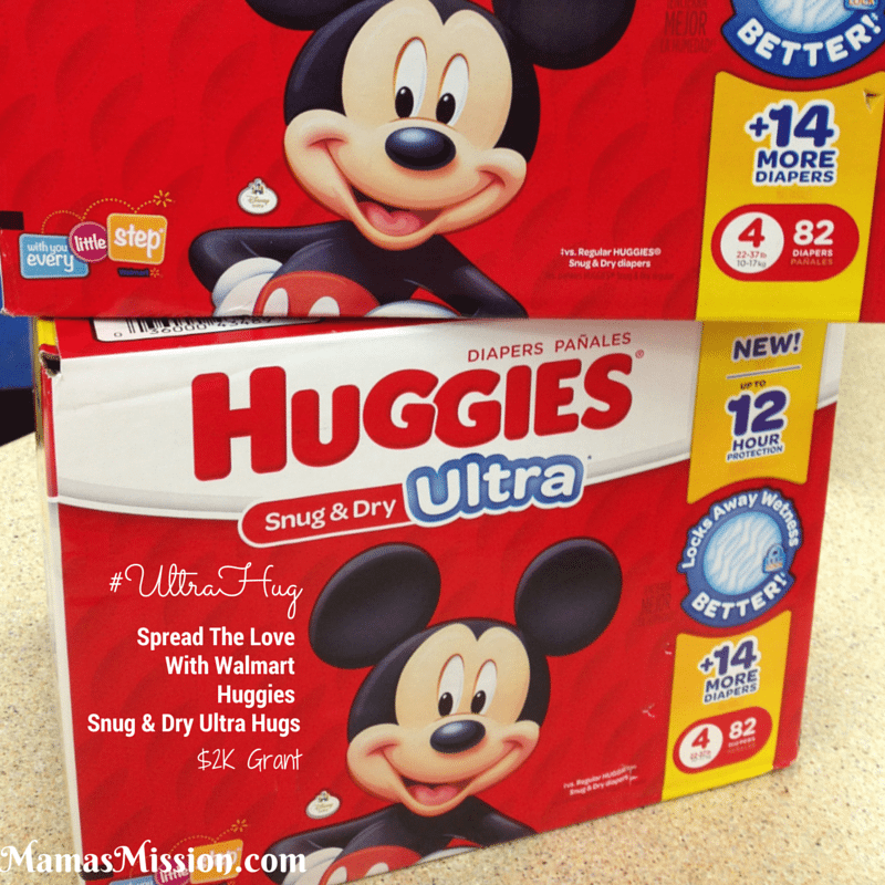 Huggies Snug and Dry Ultra Walmart project grant