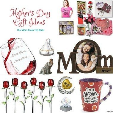 Mothers Day is just around the corner and fast approaching. Check out this list of Mothers Day gift ideas that won't break the bank & mama will love.