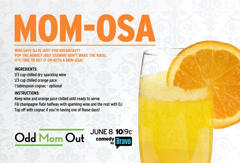 Mom-Osa Drink Odd Mom Out