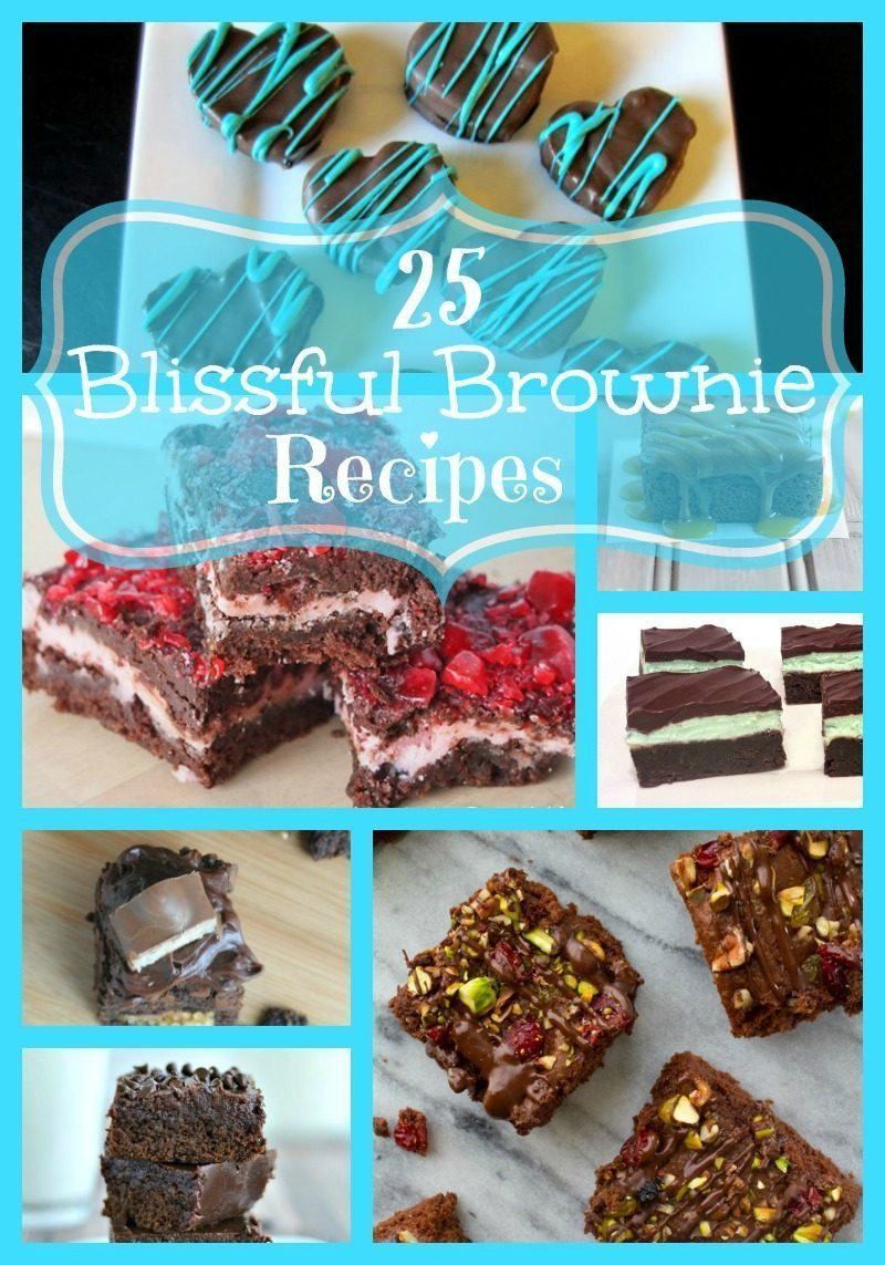 25 Blissful Brownie Recipes