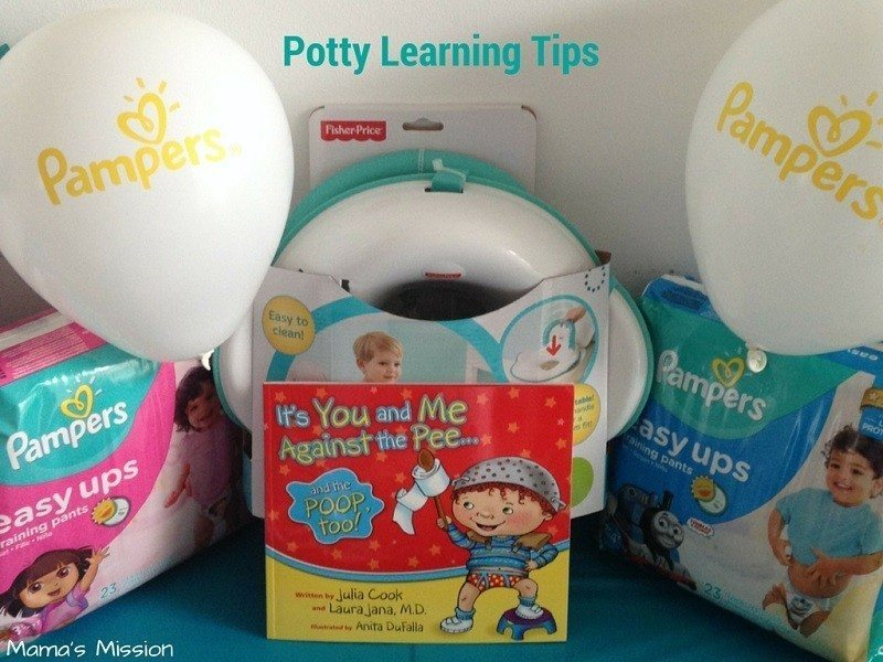 Pampers Easy Ups learning potty
