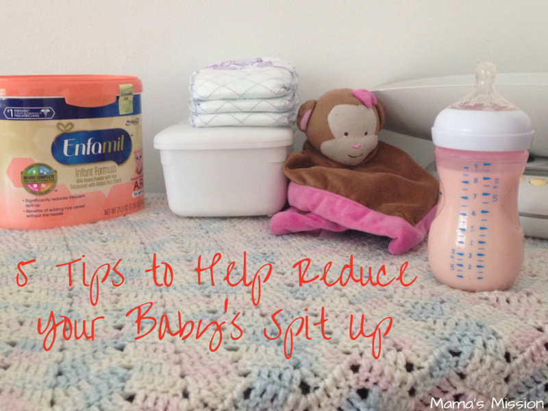 5 Tips To Help Reduce Your Baby's Spit Up Enfamil AR