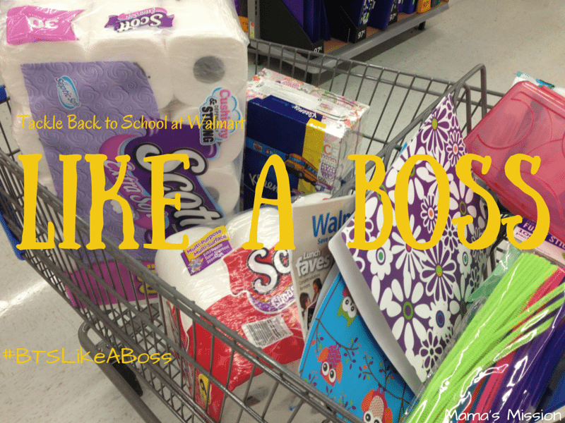 Tackle back to school at walmart like a boss bts