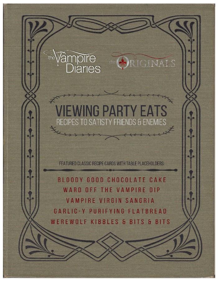 Vampire Eats Recipes The Vampire Diaries The Originals