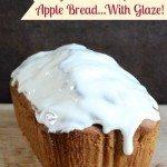 3 Ingredient Pumpkin Pie Bread with Glaze Apple