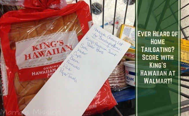 Home Tailgating With King's Hawaiian at Walmart