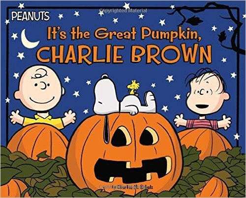 It's The Great Pumpkin Charlie Brown Not-So-Scary Halloween Books