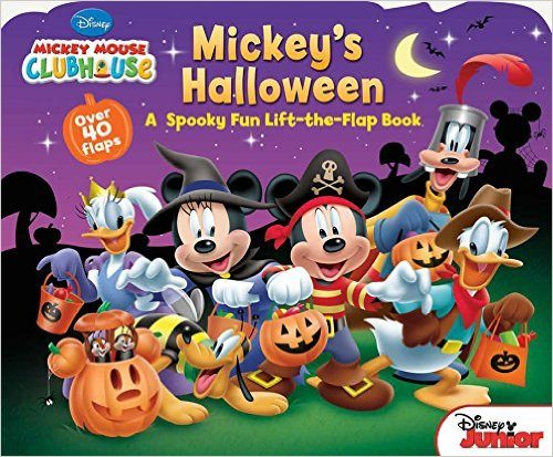 Mickey Mouse Clubhouse Mickey's Halloween Not-So-Scary Halloween Books