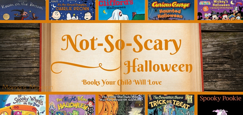 not so scary halloween books that your child will love